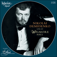 Produktbilde for Nikolai Demidenko Live at Wigmore Hall (CD)