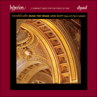 Produktbilde for Mendelssohn: Organ Works (CD)