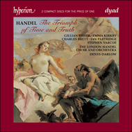 Produktbilde for Handel: The Triumph of Time and Truth (CD)
