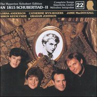 Produktbilde for Schubert: Complete Lieder, Vol.22 (CD)