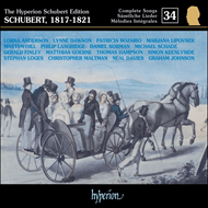 Produktbilde for Schubert: Complete Lieder, Vol. 34 (CD)