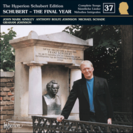 Produktbilde for Schubert: Complete Lieder, Volume 37 (CD)