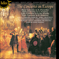 Produktbilde for The Concerto in Europe - Paisiello, Grétry, Garth, Stamitz (CD)