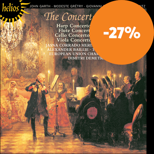 The Concerto in Europe - Paisiello, Grétry, Garth, Stamitz (CD)