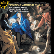 Produktbilde for Baroque Christmas Music (CD)