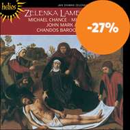Produktbilde for Zelenka: Lamentations of Jeremiah The (CD)