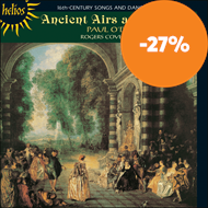 Produktbilde for Ancient Airs and Dances (CD)