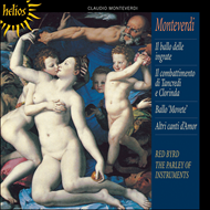 Produktbilde for Montevedri: Balli and Dramatic Madrigals (CD)