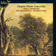Produktbilde for Chopin: Piano Concertos (CD)