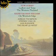 Produktbilde for Gurney: Ludlow and Teme; The Western Playland; Vaughan Williams: On Wenlock Edge (CD)