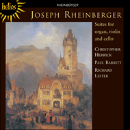 Produktbilde for Rheinberger: Suites for Organ,Violin and Cello (CD)