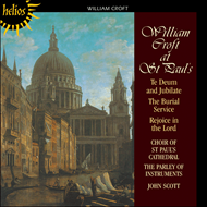 Produktbilde for William Croft at St Paul's (CD)