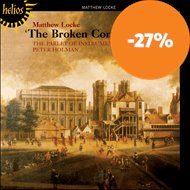 Produktbilde for Matthew Locke: Music for Broken Consort (CD)