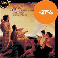 Produktbilde for Bartók: 44 Duos For Two Violins (CD)