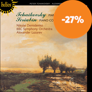 Produktbilde for Tchaikovsky: Piano Concerto No. 1; Scriabin: Piano Concerto, Op 20 (CD)