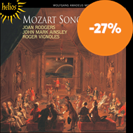 Produktbilde for Mozart: Songs (CD)