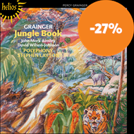 Produktbilde for Grainger: Jungle Book and Other Choral Works (CD)