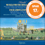 Produktbilde for Handel: Coronation Anthems; Fireworks Music (CD)