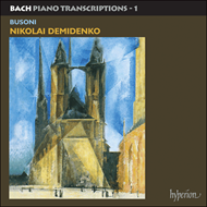 Produktbilde for Bach-Busoni: Transcriptions (CD)