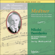 Produktbilde for Medtner: Piano Concertos (CD)