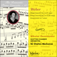 Produktbilde for Weber: Piano Concertos (CD)