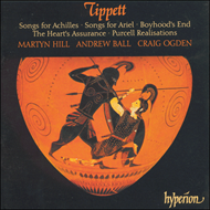 Produktbilde for Tippett: Songs and Purcell Realisations (CD)