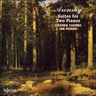 Produktbilde for Arensky: Suites for Two Pianos (CD)