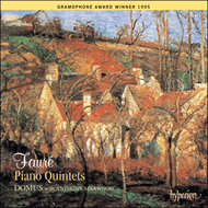 Produktbilde for Fauré: Piano Quintets (CD)