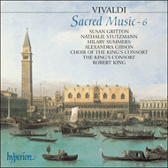 Produktbilde for Vivaldi: Sacred Music, Volume 6 (CD)