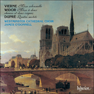 Produktbilde for Vierne/Widor/Dupré: Masses and Motets (CD)