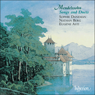 Produktbilde for Mendelssohn: Songs (CD)