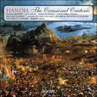 Produktbilde for Handel: The Occasional Oratorio (CD)