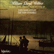 Produktbilde for William Lloyd Webber: Piano Music, Chamber Music & Songs (CD)