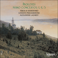 Produktbilde for Prokofiev: Piano Concertos Nos 1, 4 & 5 (CD)
