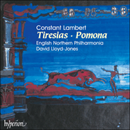 Produktbilde for Lambert: Tiresias; Pomona (CD)