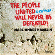 Produktbilde for Rzewski: The People will never be defeated (CD)