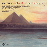 Produktbilde for Handel: Joseph and his Brethren (CD)