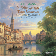 Produktbilde for Schumann: Violin Sonatas 1 and 2; (3) Romances (CD)