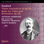 Produktbilde for Stanford: Violin Concerto & Suite (CD)