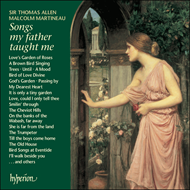 Produktbilde for Songs my father taught me (CD)