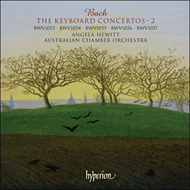 Produktbilde for Bach: The Keyboard Concertos, Vol 2 (CD)