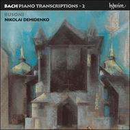 Produktbilde for Bach/Busoni: Transcriptions, Volume 2 (CD)