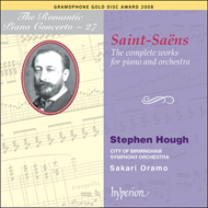 Produktbilde for Saint-Saëns - Complete Works for Piano and Orchestra (2CD)