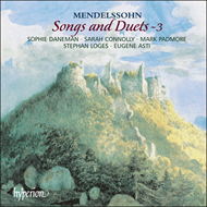 Produktbilde for Mendelssohn : Songs and Duets, Vol 3 (CD)