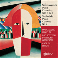 Produktbilde for Shostakovich; Shchedrin: Piano Concertos (UK-import) (CD)