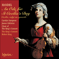 Produktbilde for Handel: An Ode for St Cecilia's Day (CD)