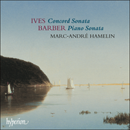 Produktbilde for Barber; Ives: Piano Sonatas (CD)