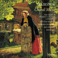 Produktbilde for Bairstow: Choral Works (CD)