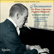 Produktbilde for Rachmaninov: Piano Concertos; Rhapsody on a Theme of Paganini (CD)