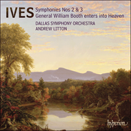 Produktbilde for Ives: Symphonies Nos 2 & 3 (CD)